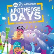 affiche apotheose days val thorens 2017