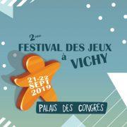 Logo Festival Jeux Vichy 2019
